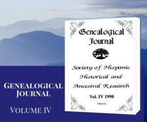 SHHAR Genealogical Journal Volume 4