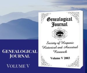 SHHAR Genealogical Journal Volume 5